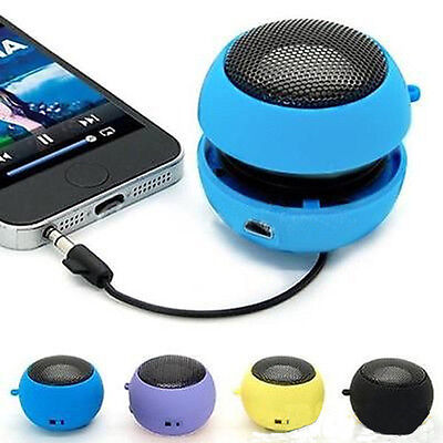 Mini Hamburger speaker Travel Portable Speaker for MP3 Laptop Tablet Universal