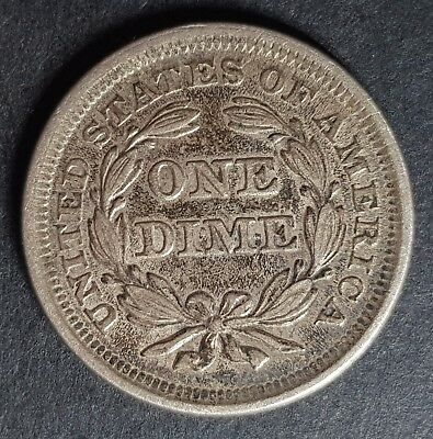 1853 United States of America One Dime
