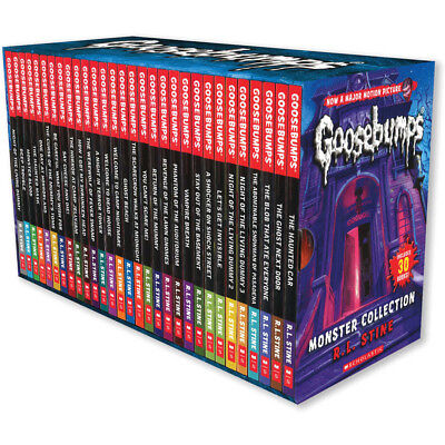 Goosebumps Classic 30 Book Collection by R. L. Stine -  Box Set Brand New