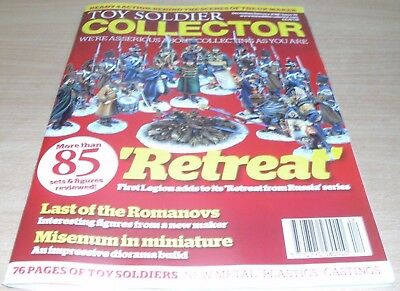 Toy Soldier Collector magazine #79 Dec/Jan 2018 Retreat from Russia series &more