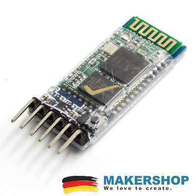 HC-05 6-Pin USB Bluetooth Modul Button Master/Slave Arduino Raspberry Pi
