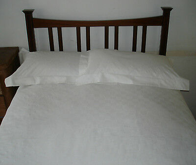 Antique/ Edwardian 4Ft Wide Bed With Mattress