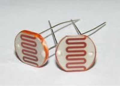 5 PCs Photoresistor GL5537 LDR Photo Resistors Light-Dependent Resistor US Selle