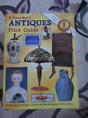 Over 50000 Antiques from A-Z-Schroeder's Antiques Price Guide-2005 VTG Re  LOT G