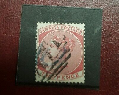 stamp - jamaica  1870 - 83 early issie fine used  - 2 d-   Lot 783