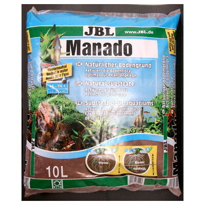 Substrat Sol Naturel Manado pour Aquarium - JBL - 10L