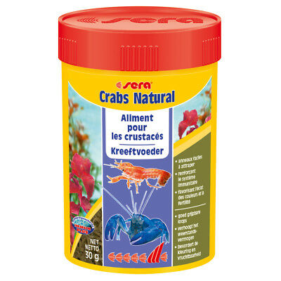 Sera - Aliments Crabs Natural pour Crustacés - 100ml