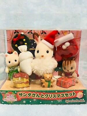 Sylvanian Families Christmas Set with Santa Claus Limited F/S Japan Epoch NEW