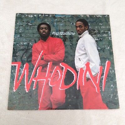 "12"" Whodini Rap Machine 1983."