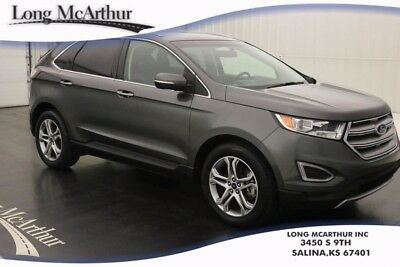 2016 Ford Edge TITANIUM AWD FORSD CERTIFIED PREOWNED SUV MSRP $39625 ONE OWNER! ALLOY WHEELS, SYNC 3, SIRIUSXM RADIO, EXTERIOR PARKING REAR CAMERA
