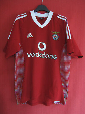 Maillot vintage Benfica 2002 Entrainement Adidas Oldschool  - S