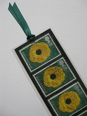 Andy Goldsworthy Bookmark Made With Collectable Postage Stamps From 1995 (2)