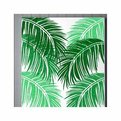 TROPICAL PALM Leaf Plant Jungle Stencil - Wall Floor Stencil for Painting