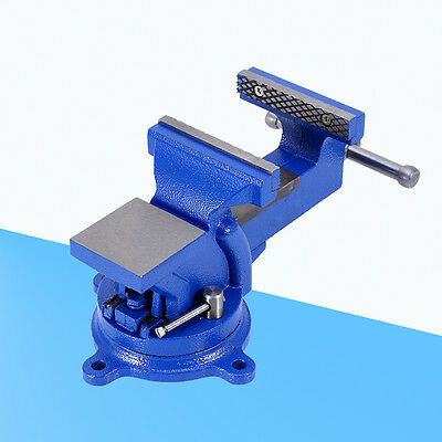 """High Quality 4"""" Engineers Vice Vise 360° Swivel Base Jaw Work Bench UK Sale"""