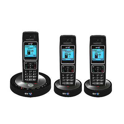 BT 6510 Trio With Answer Machine & Nuisance Call Blocking - New DB Limited Stock