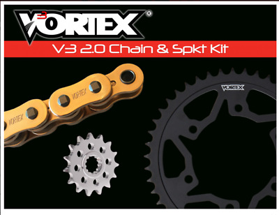Yamaha 2006-2016 Yzf-R6 Vortex 525 Chain & Steel Sprocket Kit 16-45 Tooth Count