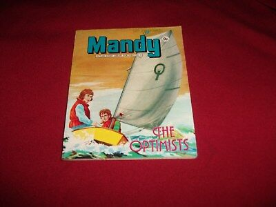 VERY RARE EARLY MANDY PICTURE STORY LIBRARY BOOK from 1970's: never been read!