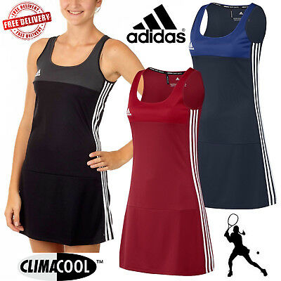 New 2018 adidas T16 Ladies Climacool Sports Dress Womens Tennis Sportswear UK