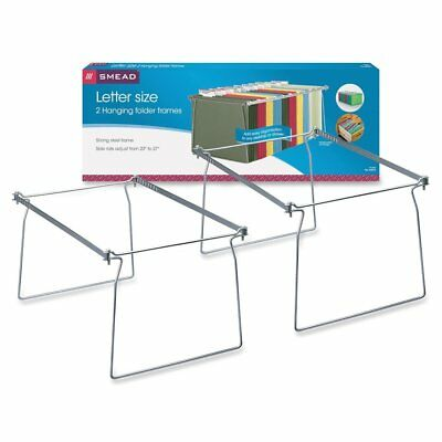 2x File Folder Frame Hanging Letter Size Holder Drawer Cabinet Rack Home Office