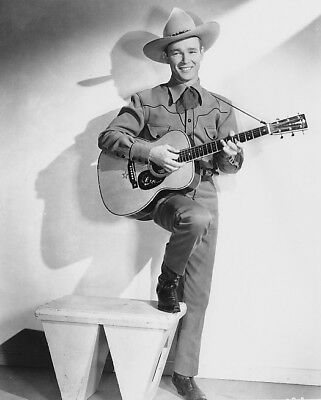 1938 ORIGINAL Photo NEGATIVE - ROY ROGERS a YOUNG King of Cowboys by FREULICH