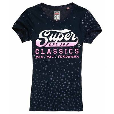 T-shirt Superdry classic star AOP entry eclipse