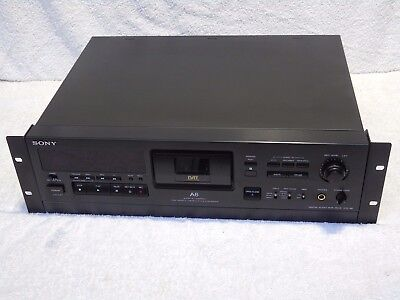 BRAND NEW! Sony DTC-A6 DAT Digital Audio Tape Recorder & Player + Mains Lead