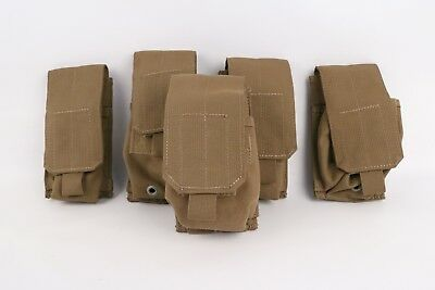Eagle Industries MS MOLLE II Multi-Grenade Pouch Coyote Brown (5 each) Smoke USA