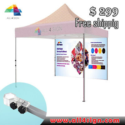 Custom tent back full wall (full color) FREE SHIPPING
