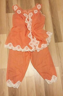 Sexy Lingerie Babydoll Vintage Baby Doll  Nightdress - 60s  RHODIATOCE Size III