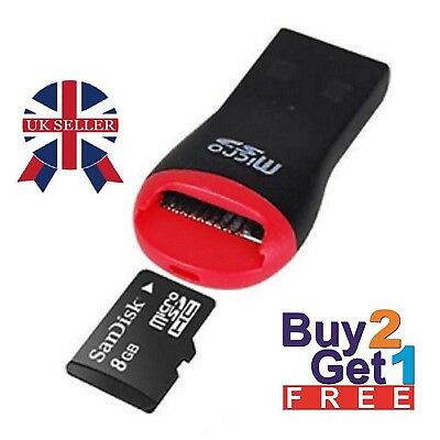 USB Memory Card Reader Adapter for Micro SD sdhc sdxc tf flash M2 memory card uk