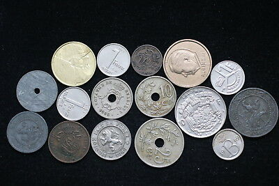 Belgium Coin Set Many In High Grade A76 Pp18