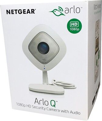 Netgear® Arlo Q VMC3040-100 Cloud WLAN 1080p HD Audio Indoor Camera NEU+OVP
