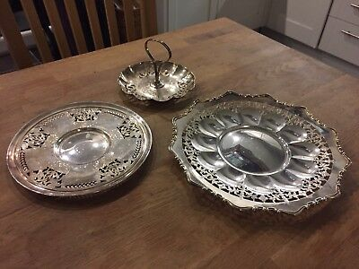 Antique Sterling Silver Dish Set Roden Bros. of Canada