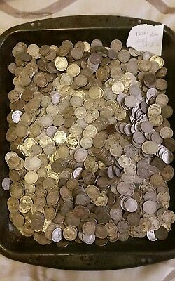 Us Cull buffalo nickels, 1200 Coins in Total Lot # 2
