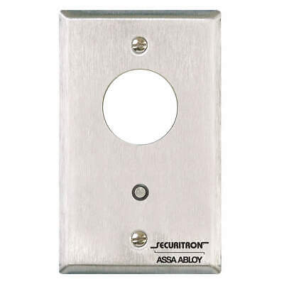 SECURITRON Stainless Steel Mortise Keyswitch,SS,Alternate,5A, MK, Clear