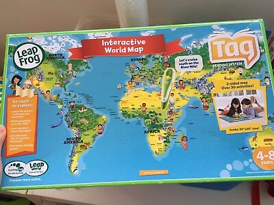Leap Tag World Map