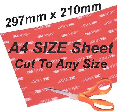 3M Pads Strong Double Sided Large Sticky Pads Mounting Heavy Self Adhesive