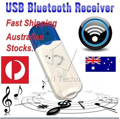USB Bluetooth Wireless Stereo Audio Music Receiver Adapter Dongle AUX