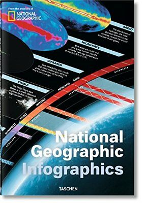 Libro NATIONAL GEOGRAPHIC INFOGRAPHICS EDIZ MULTILINGUE Copertina rigida Nuovo