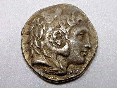 3. Greek Silver Coin, Tetradrachm, Alexander the Great - 16,94g, 27,3mm