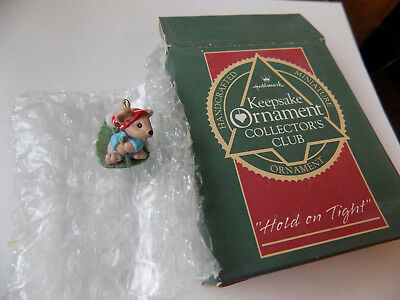Hallmark Ornaments Hold On Tight Qxc5704 1988 Nib