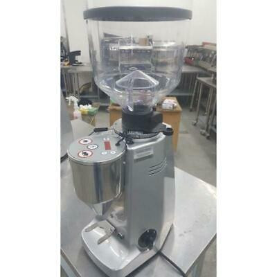 Demo 2017 Mazzer Robur Electronic In Silver Only Used for 1 week