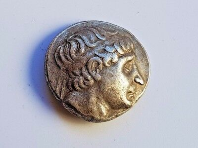 6. Kingdom of the Seleucids Silver Tetradrachm, Antiochus I Soter, 17,39g;26,2mm