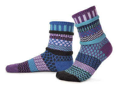 Solmate Socks Mismatched Socks Men/Women, ALL COLORS, Made in USA/Recycled Yarns