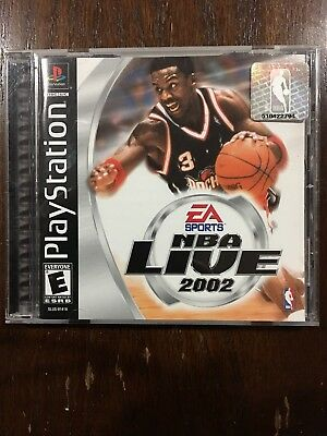 NBA Live 2002 (Sony PlayStation 1, 2001)