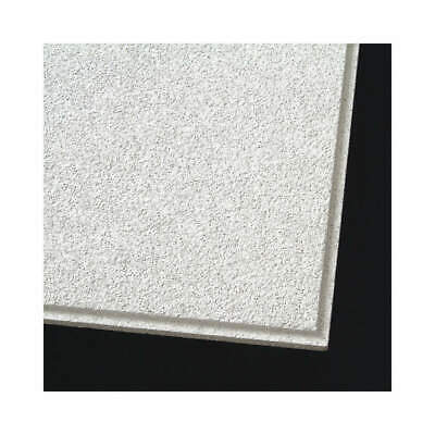 """ARMSTRONG Mineral Fiber Ceiling Tile,24"""" W,24"""" L,7/8"""" Thick,PK10, 558E, White"""