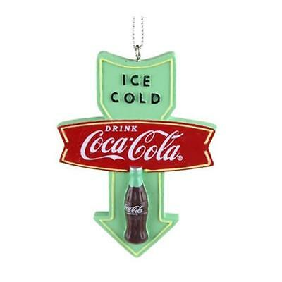 Wooden Coca-Cola Retro Vintage Style Christmas Ornament, Mint, 3-1/4-Inch