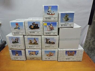 Charming Tails estate sale lot.  Lot of 13 total