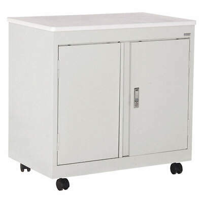 SANDUSK Welded Steel Refreshment Utility Cart,30 In H, RF1F301826-05D, Dove Gray