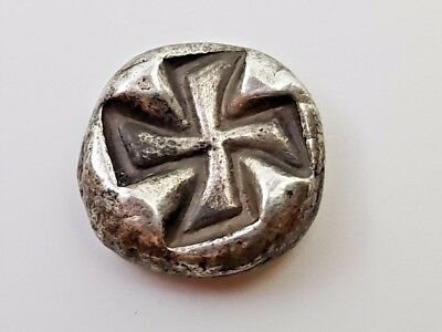 16. Kingdom Thrace, Black Sea Area, Apollonia Pontica, AR Drachm, 3,9 g, 14,6mm
